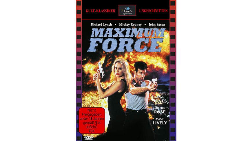 Maximum Force Uncut Cover ASTRO 2 DVDs
