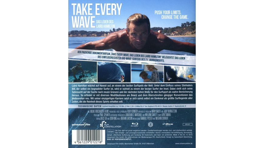Take Every Wave The Life of Laird Hamilton OmU