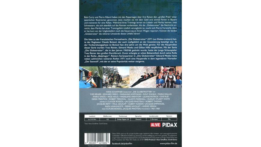 Die Globetrotter Staffel 2 Weitere 13 Folgen der Kult Abenteuerserie Pidax Serien Klassiker 2 DVDs