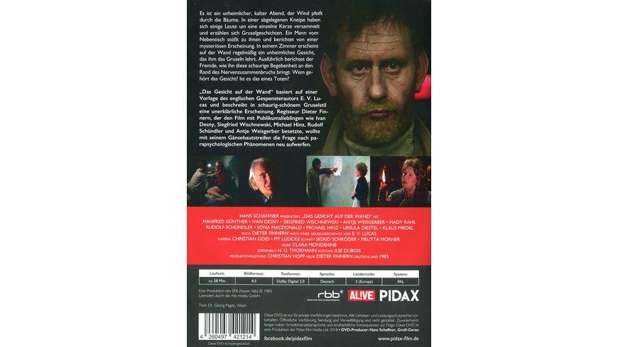 Das Gesicht auf der Wand Schaurig schoener Gruselfilm nach einer Vorlage von E V Lucas Pidax Film Klassiker