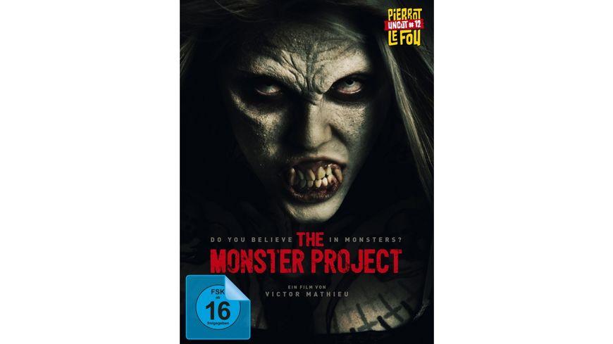 The Monster Project uncut Limitiertes und serialisiertes Mediabook mit Booklet und Poster DVD