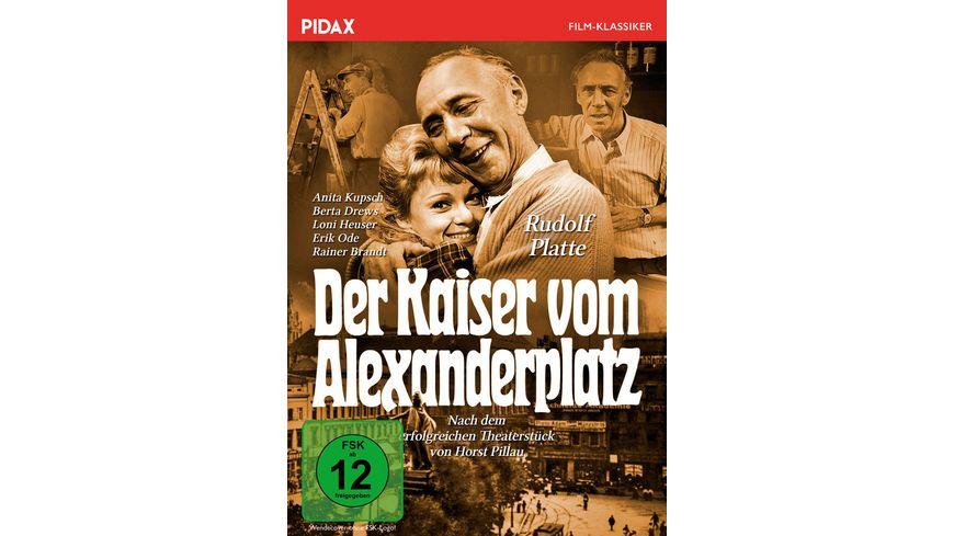 Der Kaiser vom Alexanderplatz Erfolgreiche Horst Pillau Verfilmung mit Starbesetzung Pidax Film Klassiker