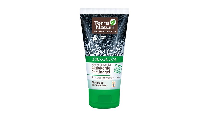 Terra Naturi Reinigung Aktivkohle Peeling