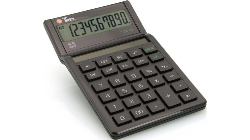 TWEN Taschenrechner Eco 10 Solar