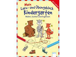 Buch ARENA Malen Suchen und Ergaenzen