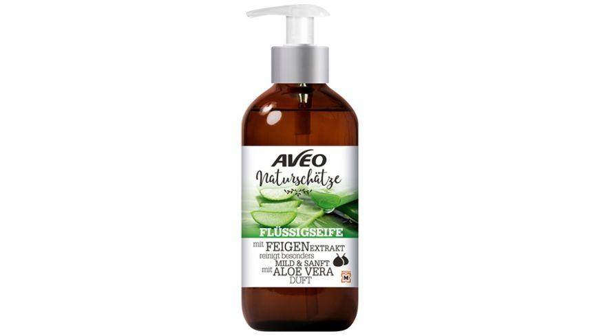 AVEO Naturschaetze Fluessigseife mit Feigenextrakt und Aloe Vera Duft