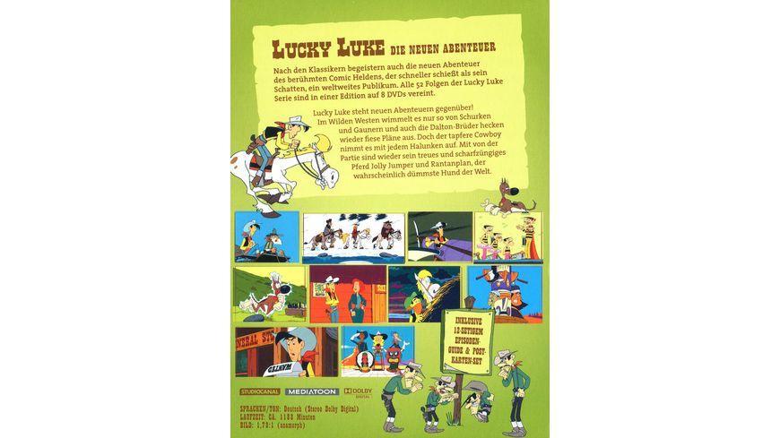 Lucky Luke Die neuen Abenteuer Die komplette Serie 8 DVDs
