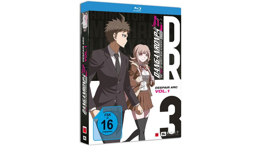 Danganronpa 3 Despair Arc Blu ray 1