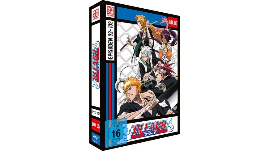 Bleach TV Serie Box 5 Episoden 92 109 3 DVDs