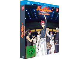 Food Wars The Second Plate 2 Staffel Blu ray 1 mit Sammelschuber Limited Edition