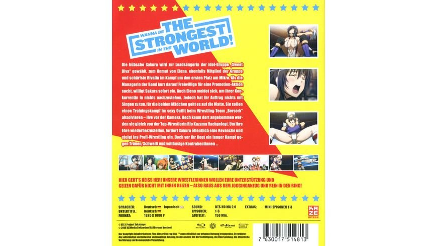 Wanna be the Strongest in the World 1
