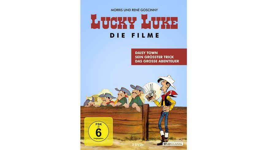 Lucky Luke Die Spielfilm Edition 3 DVDs