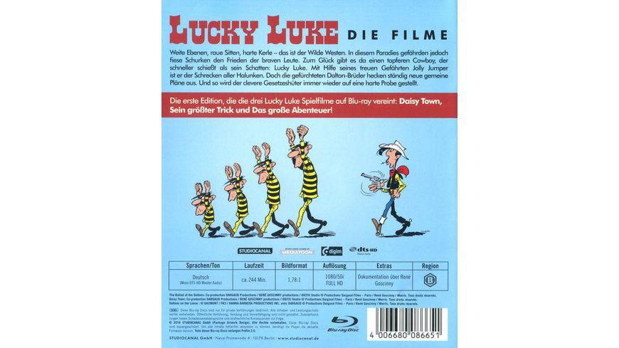 Lucky Luke Die Spielfilm Edition 3 BRs