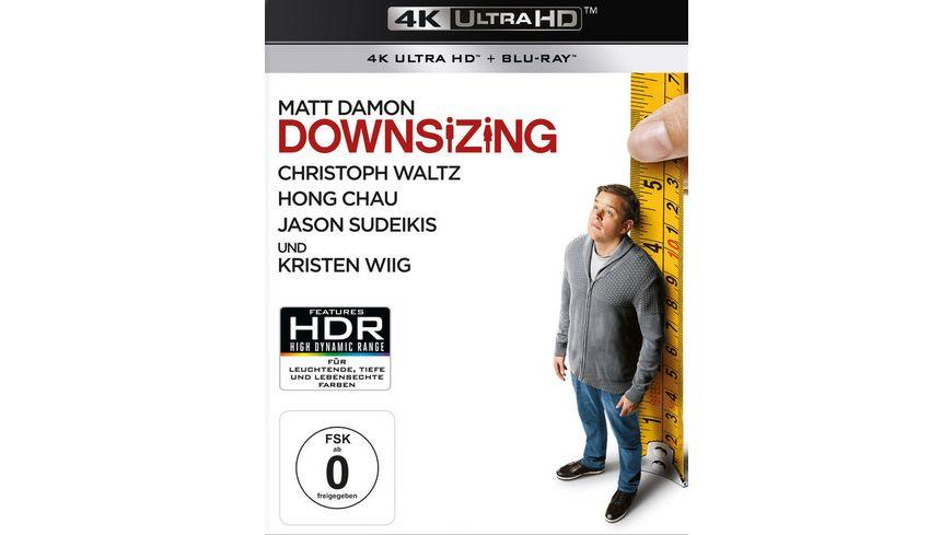 Downsizing 4K Ultra HD Blu ray