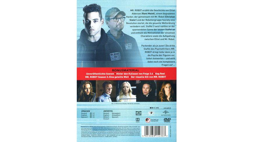 Mr Robot Staffel 3 3 DVDs