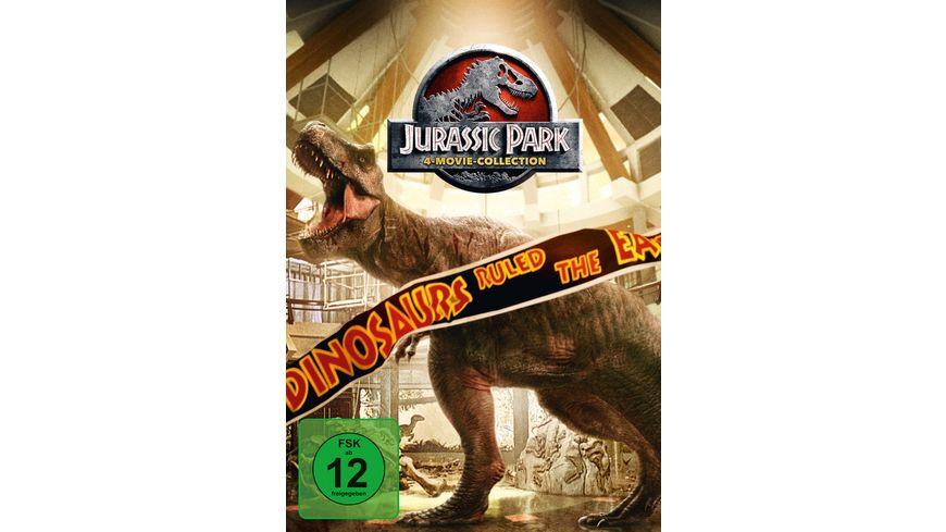 Jurassic Park 1 3 Jurassic World 1 4 DVDs