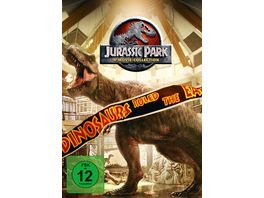 Jurassic Park 1 3 Jurassic World 1 4 DVDs
