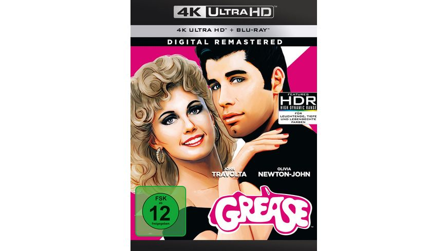 Grease Remastered 4K Ultra HD Blu ray