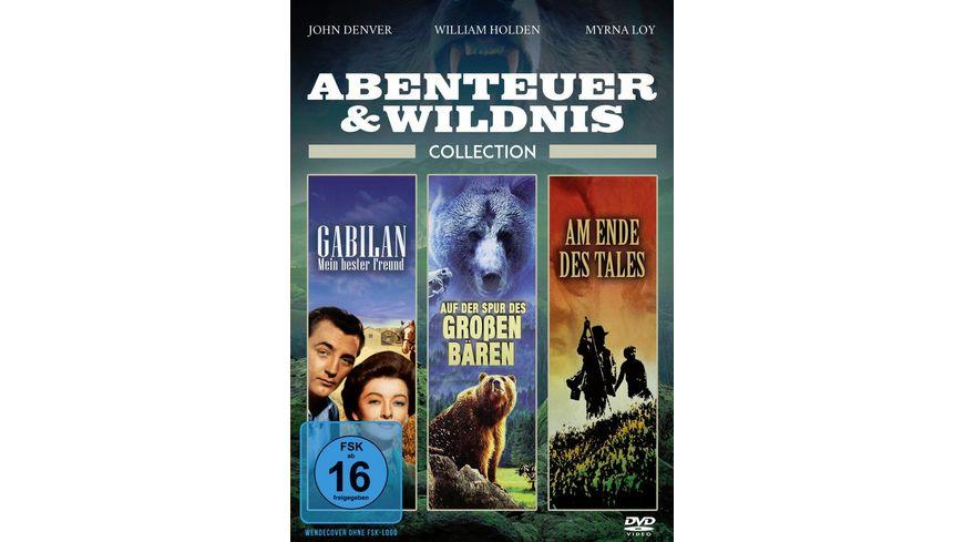 Abenteuer und Wildnis Collection 3 Filme in einer Box