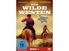 Der Wilde Westen DVD Box 3 Filme