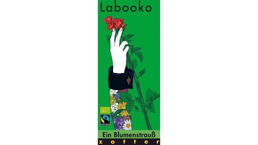 Labooko Ein Blumenstrauss Mandel Rosen Cashewnougat mit Wiesenblueten