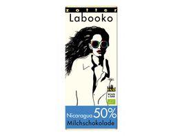 Labooko 50 Nicaragua weltbeste Milchschokolade