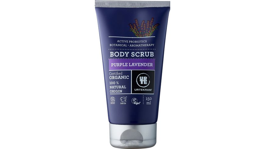 URTEKRAM Purple Lavender Body Scrub