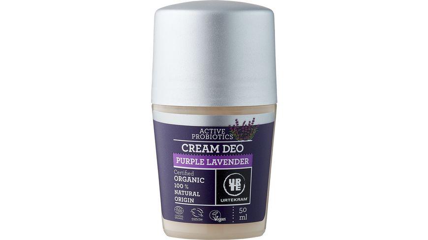 URTEKRAM Purple Lavender Cream Deodorant