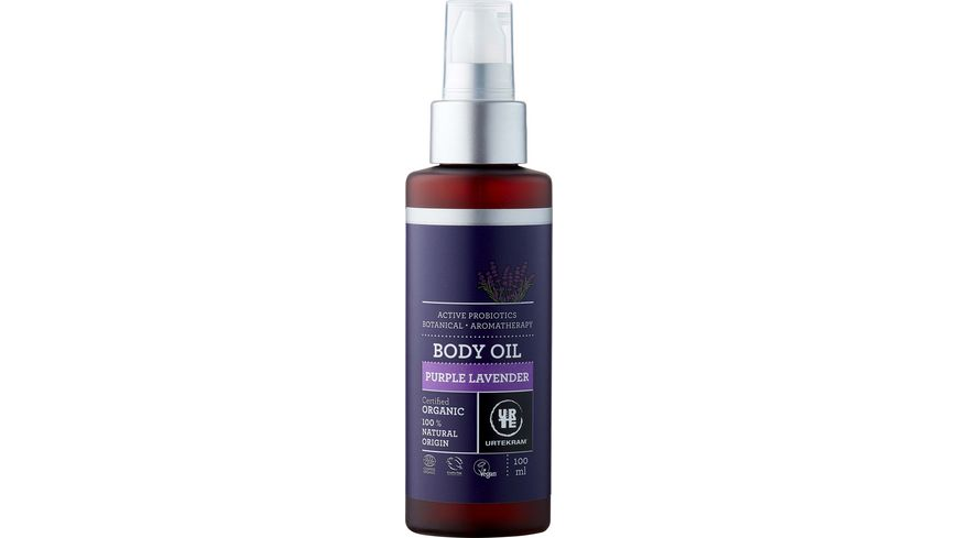 URTEKRAM Purple Lavender Body Oil