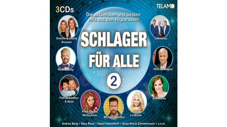 Schlager fuer Alle Vol 2