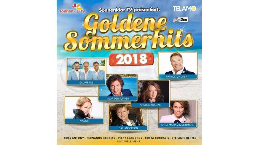 sonnenklar TV praes Goldene Sommerhits 2018