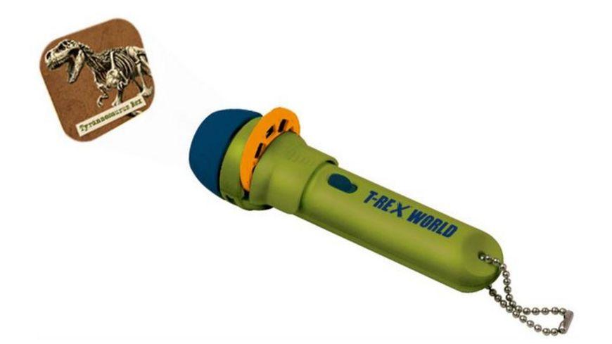 Die Spiegelburg T Rex World Projektor Taschenlampe