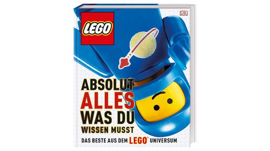 Buch Dorling Kindersley Verlag LEGO Absolut alles was du wissen musst