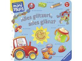 Ravensburger Buch ministeps Alles glitzert alles glaenzt