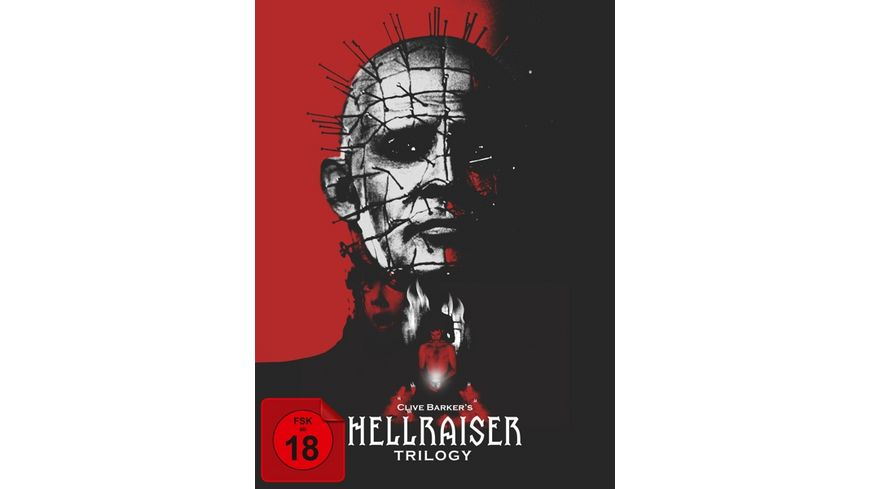 Hellraiser Trilogy Collector s Edition im Digipak 5 BRs