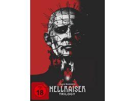 Hellraiser Trilogy Collector s Edition im Digipak 5 BRs