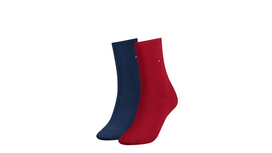TOMMY HILFIGER Damen Socken Casual 2er Pack