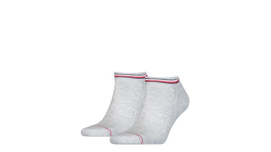 TOMMY HILFIGER Herren Sport Sneaker Iconic 2er Pack