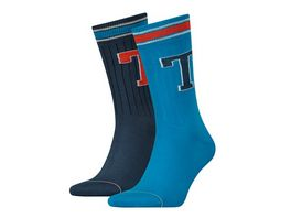 TOMMY HILFIGER Herren Socken Patch 2er Pack