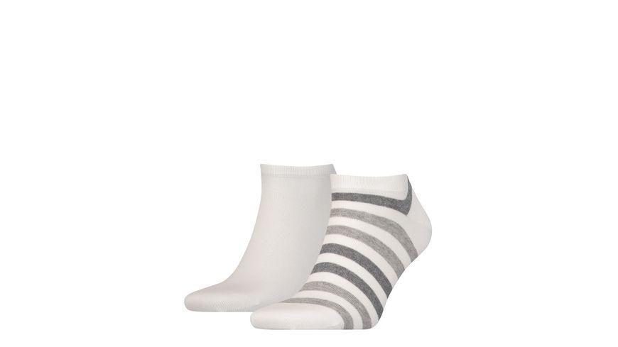 TOMMY HILFIGER Herren Sneaker Duo Stripe 2er Pack