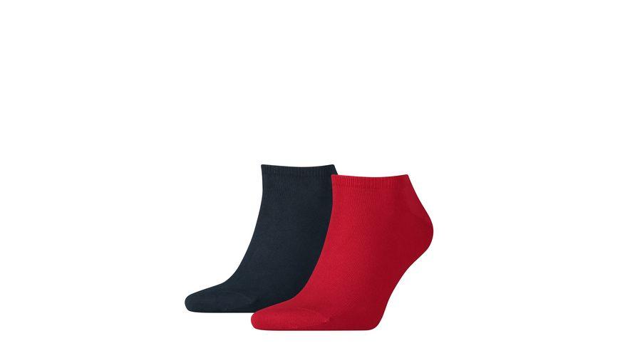 TOMMY HILFIGER Herren Sneaker Socken Flag 2er Pack