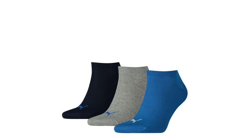 PUMA Unisex Sneaker Socken Plain 3er Pack
