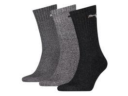 PUMA Sport Socken unisex 3er Pack