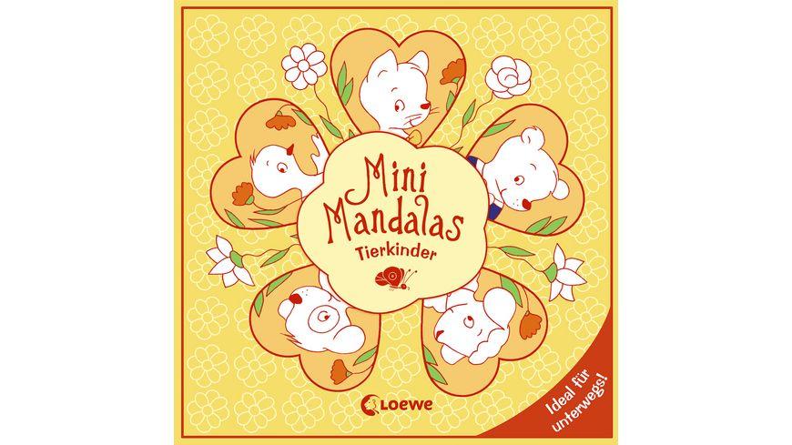 Buch Loewe Mini Mandalas Tierkinder