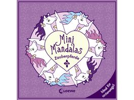 Buch Loewe Mini Mandalas Zauberpferde