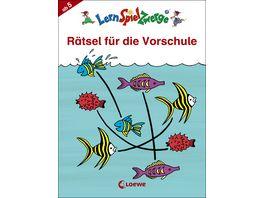 Buch Loewe Raetsel fuer die Vorschule
