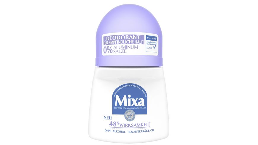 Mixa 0 Aluminium Salze Deodorant Roll On