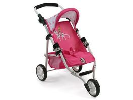 Bayer CHIC 2000 Jogging Buggy Lola Design Pony Princess