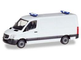 Herpa 013314 Herpa MiniKit Mercedes Benz Sprinter Kasten Flachdach
