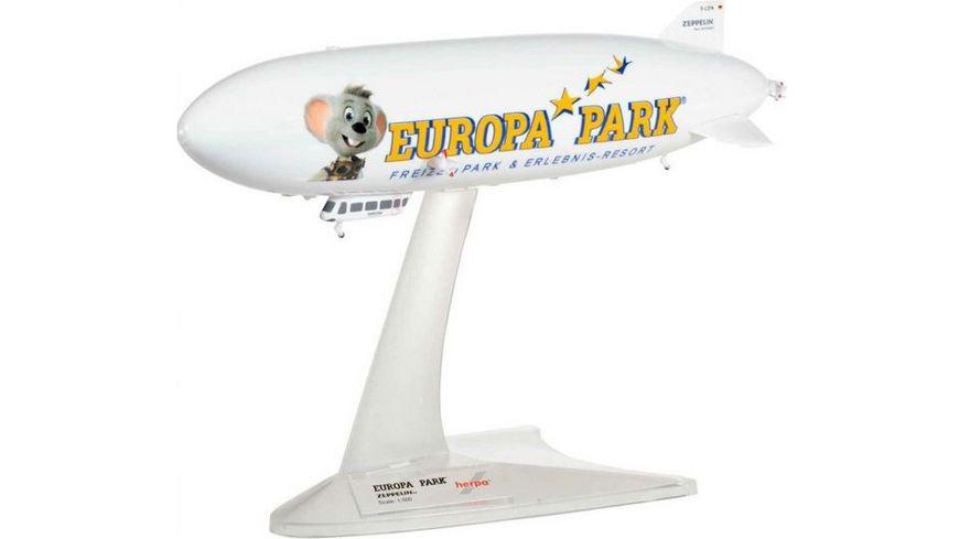 Herpa 531139 Wings Zeppelin Reederei Zeppelin NT Europa Park D LZFN